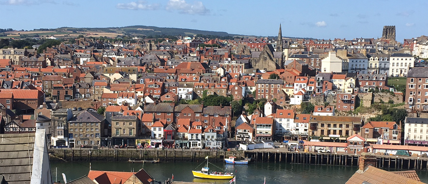 Whitby Town View